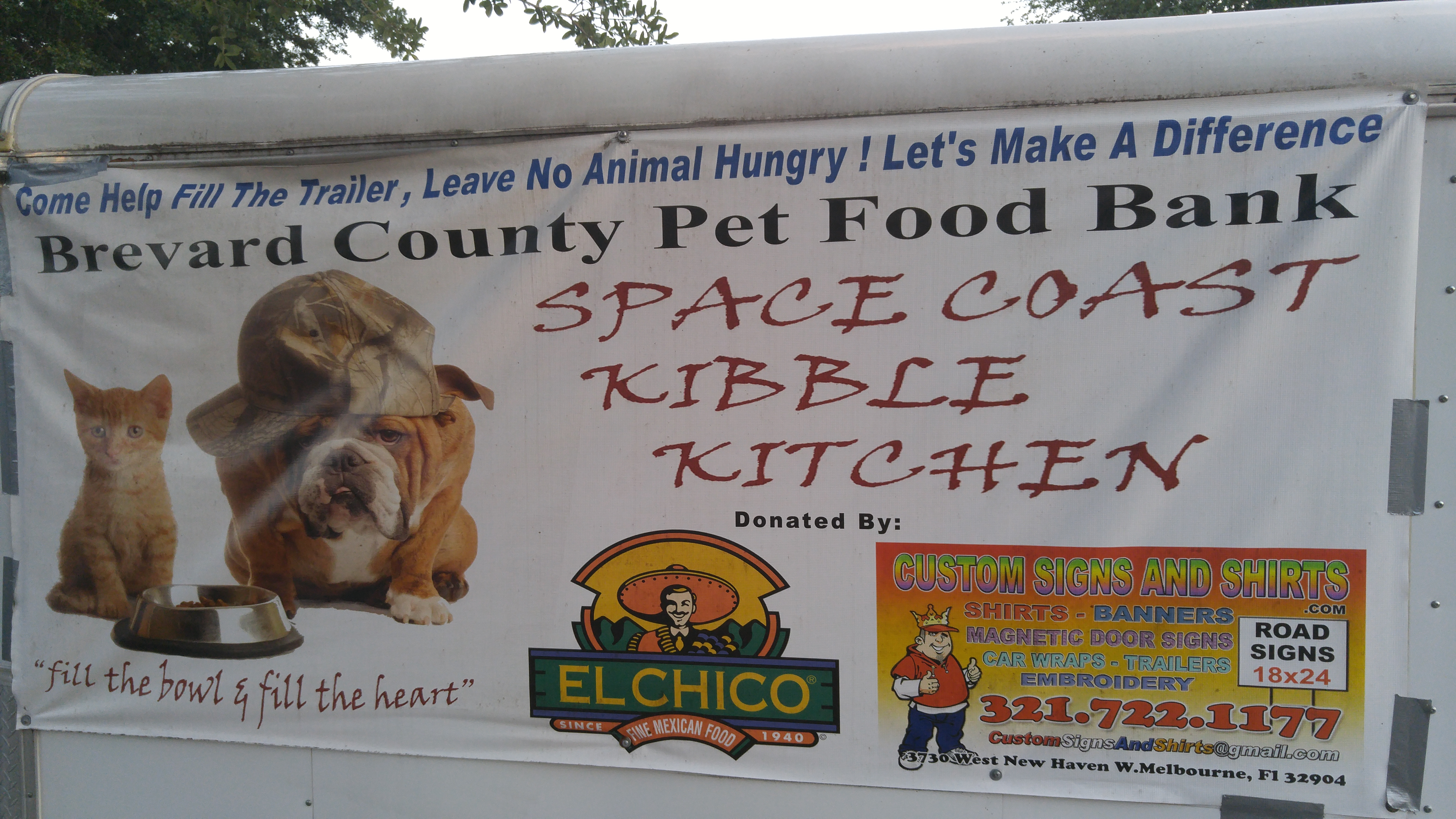 Space Coast Kibble Kitchen needs your immediate help